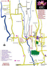 Murni's Map of Ubud