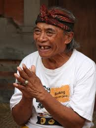 "Ketut Liyer, the healer featured in the book ""Eat, Pray, Love"""
