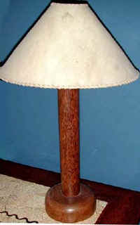 Coconut Wood Lamp