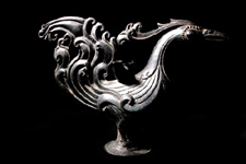 Oil Lamp: Rooster