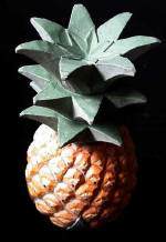 Wooden Fruit: Pineapple