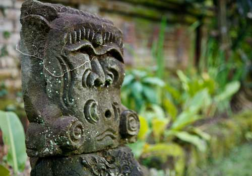 Balinese Stonecarving