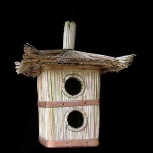 Double-entrance Bird House