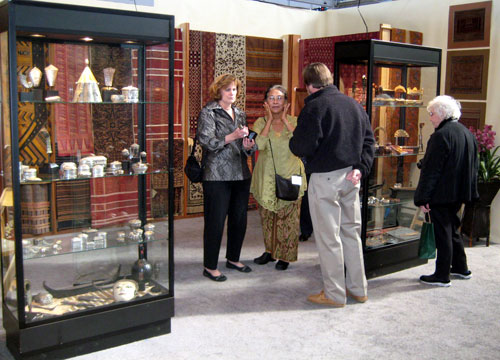 Murni at the San Francisco Arts of Pacific Asia Show 2009