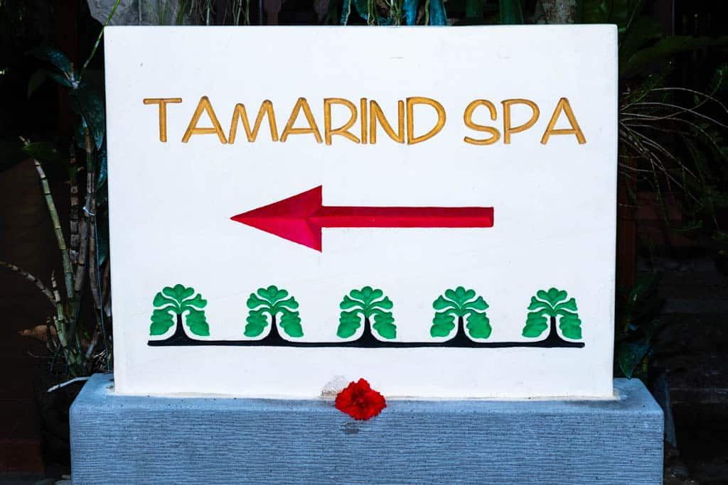 Map to Tamarind Spa