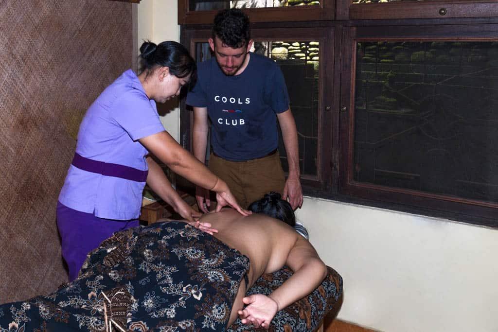 Tamarind Spa Massage Classes