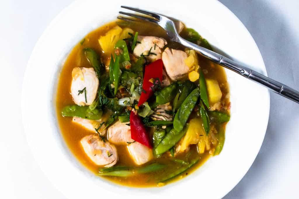 Murni's Fish in taucho sauce
