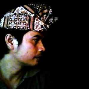 Balinese Batik Udeng Headdress