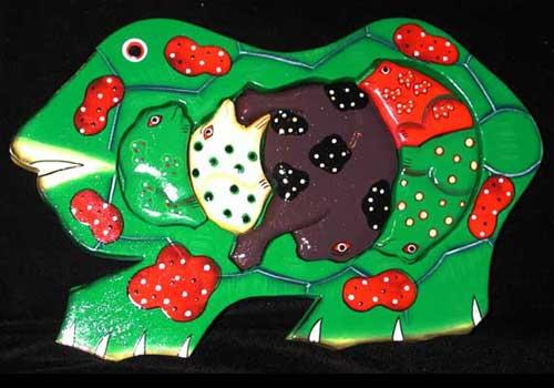 Frog Jigsaw