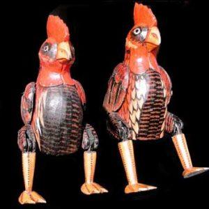 Wooden Chickens