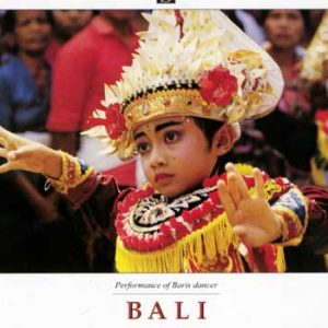 Balinese Boy Baris Dancer