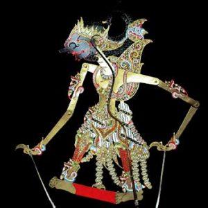 Wayang Kulit Arjuna Murnis In Bali