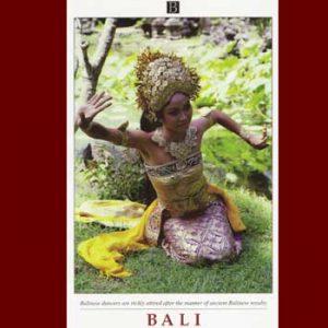 Balinese Oleg Tamulilingan Dancer