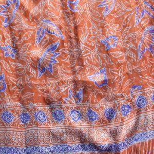 Silk Batik Scarves