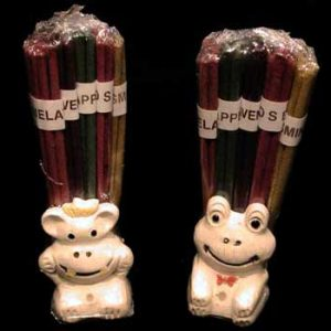 Incense in Incense Holders