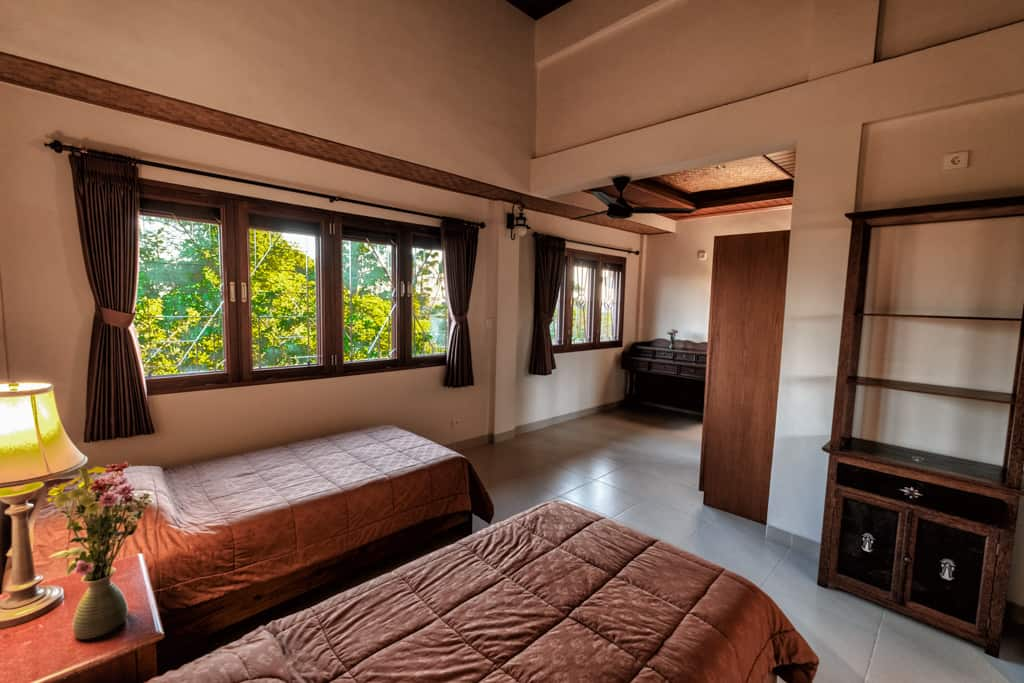 Luxury Rooms at Murni's Houses Mount Agung